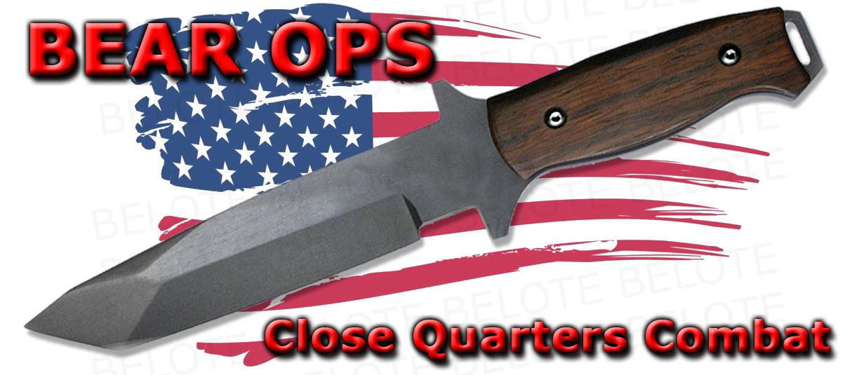 Bear Ops Close Quarters Combat Tanto Cqc 110 Cb2 T New Ebay