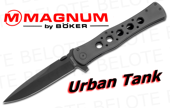 Boker Magnum Urban Tank Folding Knife 01mb222 New