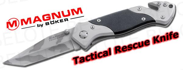 Boker Magnum Tactical Rescue Knife Camo Folder 1ry997 Ebay