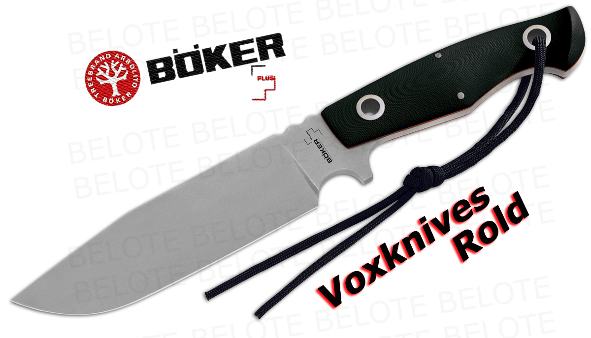 boker plus voxknives rold fixed blade with sheath 02bo272 ebay
