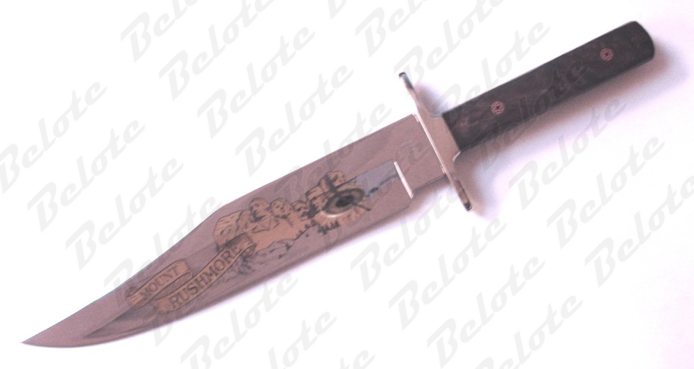 Buck Knives Limited Custom Bowie Mt Rushmore 916wasle Ebay