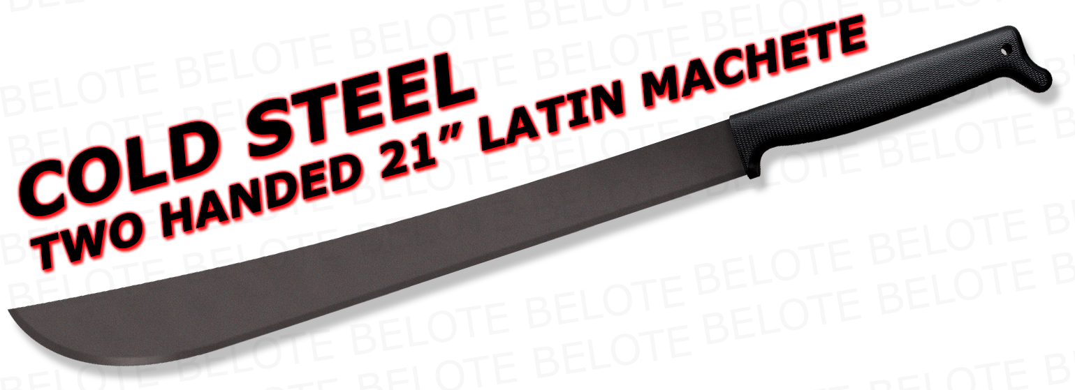Cold Steel Two Handed 21 Quot Latin Machete 97tm21 New Ebay