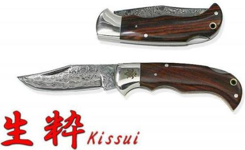 Kanetsune Kissui Vg 10 Steel Blade Cocobolo Wood Handle