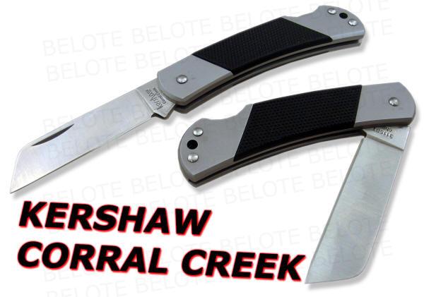 Kershaw Corral Creek Sheepsfoot Pocket Knife 3115bt New Ebay