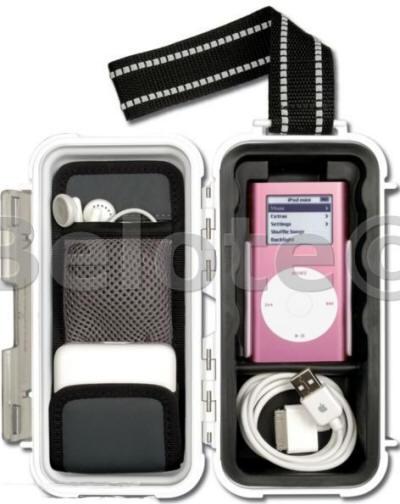 Pelican Micro Case I Pod White I1030 Fits Ipod Mini 39 S Ebay