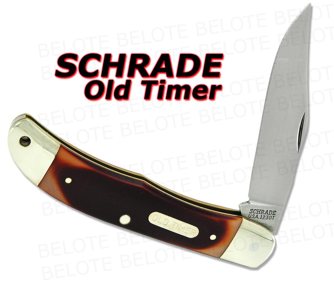 Schrade Old Timer Delrin Pioneer Pocket Knife 123ot New Ebay