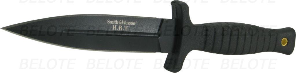 smith wesson hrt black boot knife w sheath swhrt9b