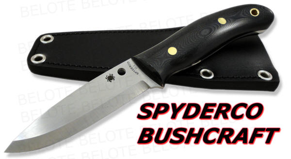 Spyderco Bushcraft Uk G 10 Fixed Blade Numbered Fb26gp Ebay