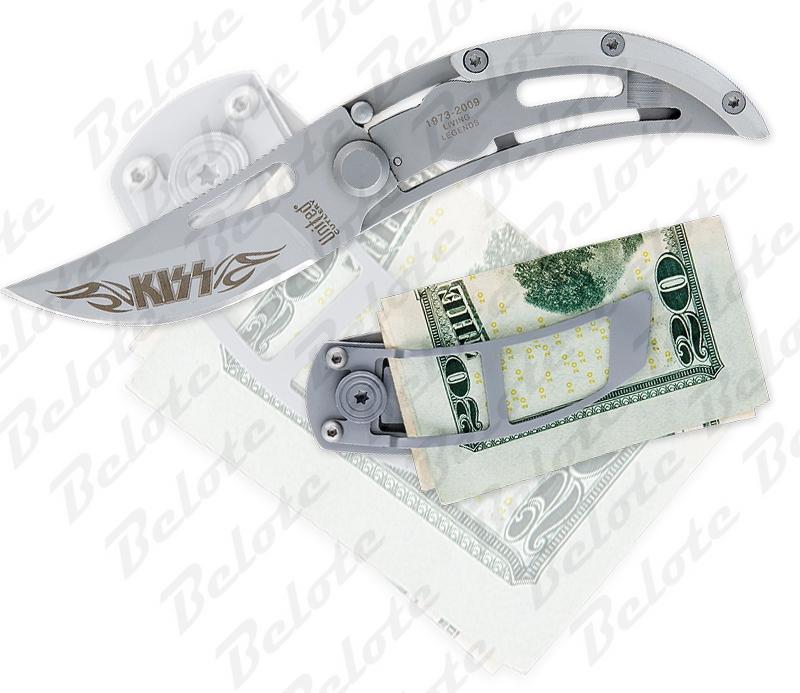 kiss money clip
