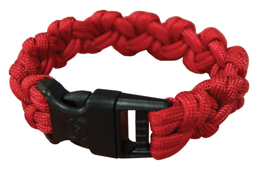 ultimate survival para 550 basic clasp paracord bracelet
