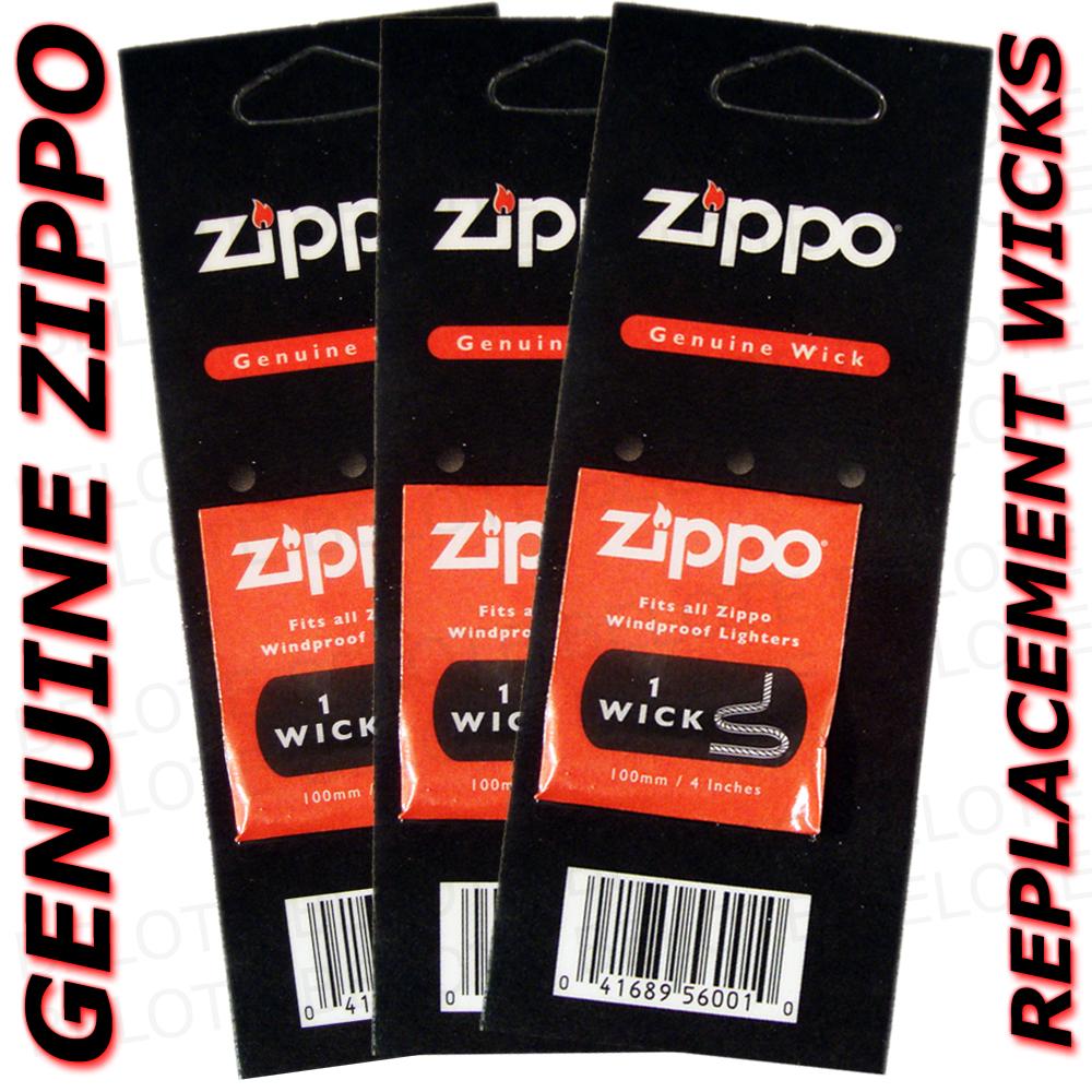 how to change zippo wick