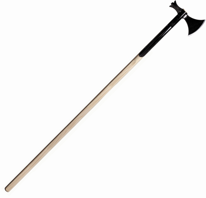 Cold Steel Pole Axe 1055 Carbon Overall Length 73 Quot Weight