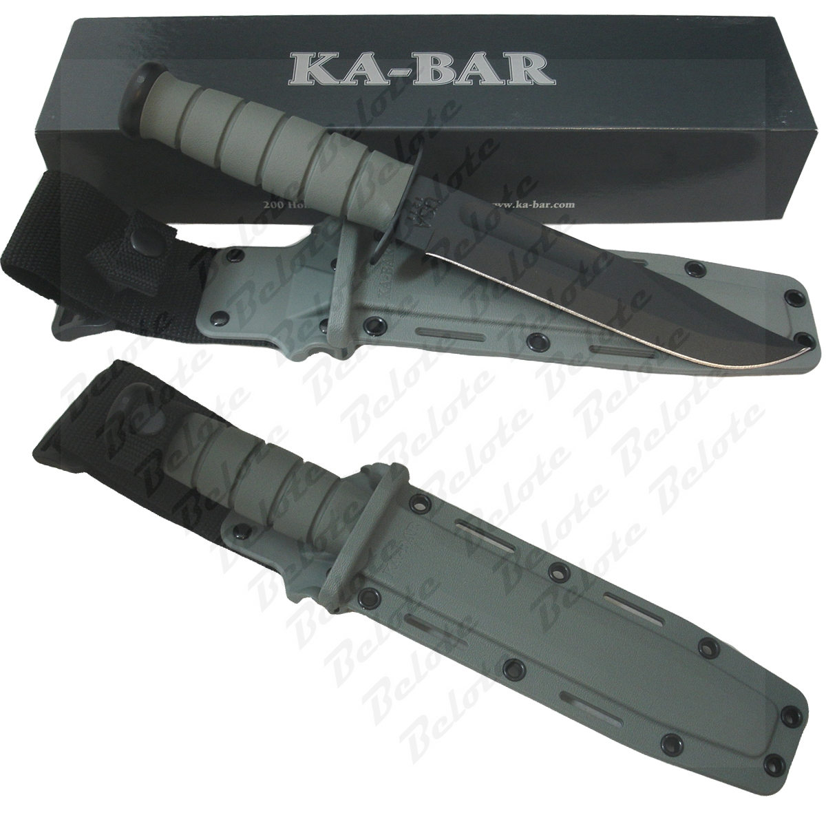 U S Servicemen And Servicewomen Civilians Alike Asked For A Foliage Green Version Of The Well Known Black Ka Bar Here It Is