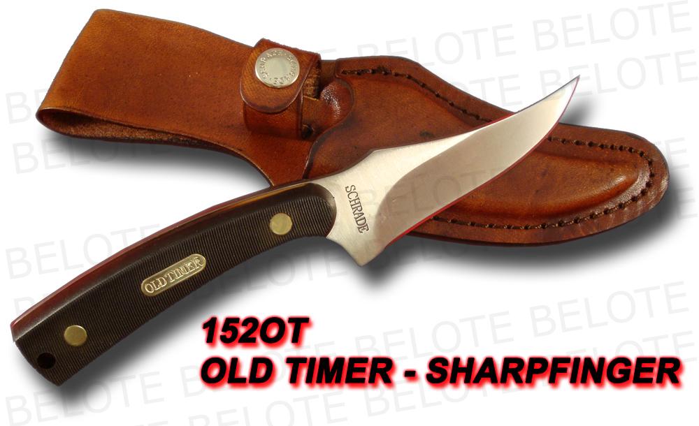 Schrade Old Timer Sharpfinger Delrin W Sheath 152ot Ebay