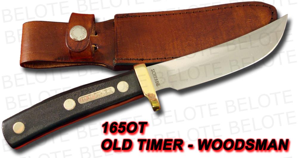 Schrade Old Timer 9 1 2 Quot Woodsman Delrin Sheath 165ot