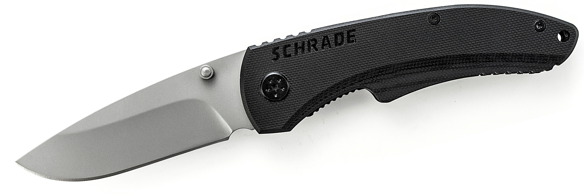 Schrade 9cr14mov Steel Large Drop Point Liner Lock G 10