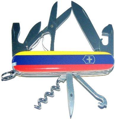 Victorinox Swiss Army Pocket Knife Climber Venezuela Flag