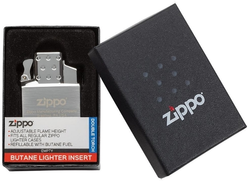 Zippo Adjustable Butane Double Torch Insert W Push Button